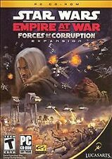 STAR WARS Empire at War Forces of Corruption Expansion PC CD ROM - New Sealed