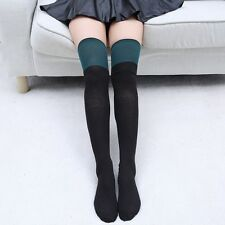 Fashion Winter New Striped Sexy Over The Knee Cotton Girl Women Thigh High Socks
