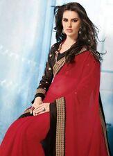 Saree Exclusive Beautiful Designer Bollywood Indian SAREE Partywear Sari 106