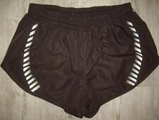 "Helly Hansen Black Textured Sprinter Running ""Short"" Shorts Men's Size Medium"