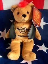 HRC Hard Rock Cafe Warsaw Warschau Punk Bear Mohawk 2011 Red Hair Herrington