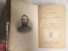 1866 Life & Campaigns of Lt General Stonewall Jackson, Confederate CSA, MAP, 1st