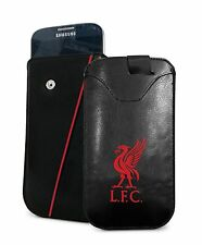 Liverpool Football Club Mobile Phone Smartphone PU Leather Pouch - Small Cover