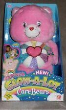 **RARE** NIB 12inch Plush Glitter Glow-A-Lot Hopeful Heart Care Bear