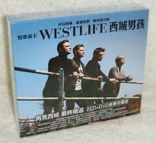 Westlife Greatest Hits Taiwan Ltd 2-CD+DVD w/BOX