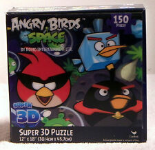 Angry Birds Space Super 3D 150 Piece Puzzle by Rovio Entertainment LTD - NIB