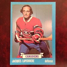 1973-74 Topps Set JACQUES LAPERRIERE #137 MONTREAL CANADIENS - NM/MINT+