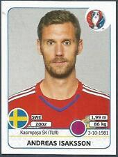 PANINI EURO 2016- #549-SWEDEN-ANDREAS ISAKSSON