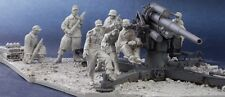 AC Models German 88 Crew  7 figures inc. scenic base WW2 1/35th Unpainted kit