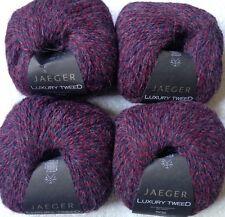Jaeger Luxury Tweed 4 skein of 197 yards (788 total) sh 836 lot 147 35% alpaca