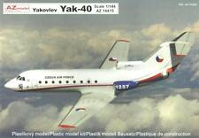 "YAKOVLEV YAK 40 ""VIP""(POLISH AF, CZECH AF & ANGOLAN AF MARKINGS) 1/144 AZ MODEL"