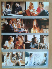 HOW TO MAKE AN AMERICAN QUILT  set 8 German lobby cards 1995 WINONA RYDER
