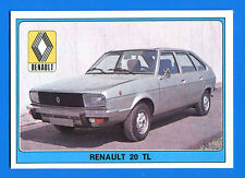 SUPER AUTO - Panini 1977 -Figurina-Sticker n. 168 - RENAULT 20 TL -New