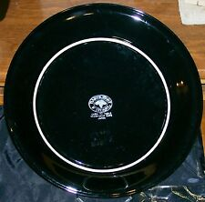 Baker Hart & Stuart Black Plate Microwave Safe Made In Japan Rare Dinnerware