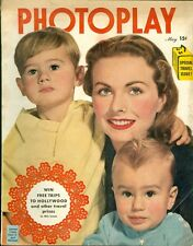 1950 Photoplay Magazine: Jeanne Crain, Paul Jr. & Michael/Travel Issue