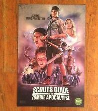 Limited Edition Scout's Guide to the Zombie Apocalypse Movie 11 X 17 Poster 2015