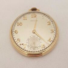 Vintage Hamilton Gold Filled With Gold Numbers Open Face Pocket Watch
