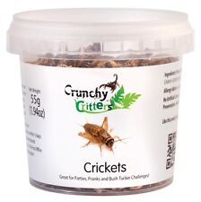 Edible Insects Edible Bugs Bush Tucker Crickets 55g Crunchy Critters