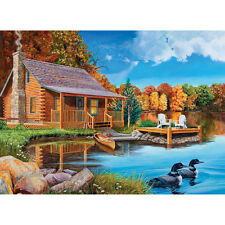 Cobble Hill Loon Lake 500 Piece Jigsaw Puzzle