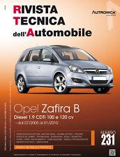 Manuale tecnico per la riparazione e la manutenzione dell'auto - Opel Zafira B