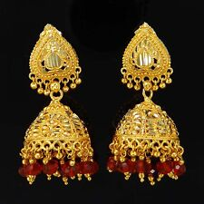 Bollywood Indian Jhumka Jhumki Earring Set Traditional Wedding Party Jewelry