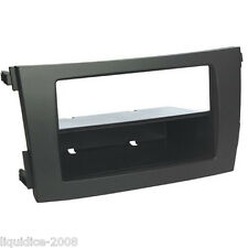 CT24TY49 TOYOTA COROLLA 2009 to 2013 BLACK SINGLE OR DOUBLE DIN FASCIA ADAPTER