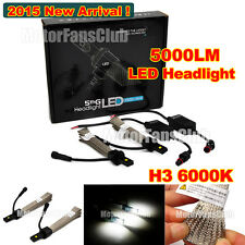2015 New 40W 5000LM H3 PHILIPS LUXEON LED Headlight Kit Car Driving Lamp 6000K