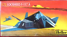 Heller 1:72 Lockheed F-117 A Stealth Aircraft Model Kit