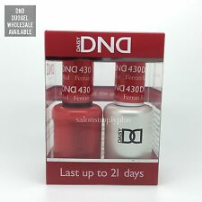DND DAISY DUO GEL - (GEL W/ MATCHING LACQUER) NAIL POLISH SET - CHOOSE COLOR-