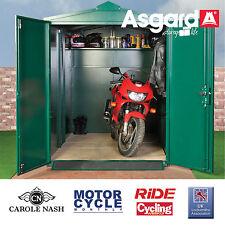 Motorcycle garage - Metal Motorbike storage - high security bike shed