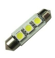 DIXPLAY 80483-A5 Festoon 3-LED Warm White Bulb SV8.5 42mm x 10mm