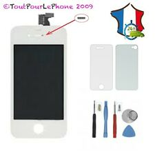 ECRAN LCD+TACTILE+SUPPORT ASSEMBLE POUR IPHONE 4S BLANC+CADEAU