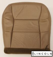 97 98 99 Lincoln Navigator Bucket Driver Side Bottom LEATHER Seat Cover TAN