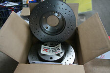 Brembo XTRA Perforated brake discs Audi A3 Quattro und VW Golf 4motion rear