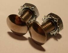2 Small Stainless Steel Number Plate Bolts Vintage Austin A40 Somerset Devon AS3