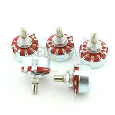 5pcs WTH118-1A 2W 100K Ohm 6mm Round Shaft Linear Taper Rotary Potentiometer Pot