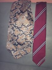 Vintage Tootal Paisley Cravat With Free Tootal Tie