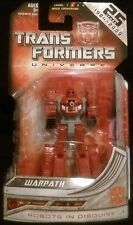 Transformers Universe 25th Anniversary Warpath Legends Class Figure Sealed