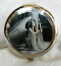 Compact Mirror - Angel with Sword - Anne Stokes Design - BNIB