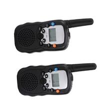 2 Piece T-388 Walkie Talkie 8 Channels 5Km Two-way Radios Flashlight for Travel