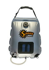 Top Quality 5 Gallon Summer Camp Shower portable outdoor Bag Camping HOT WATER!