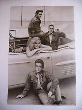 MARILYN MONROE ELVIS JAMES DEAN  BOGART AUTHENTIC 1992 POSTER