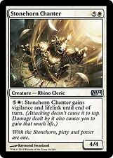 Stonehorn Chanter  EX/NM x4 CHINESE M14 Core Set MTG Magic Cards White Uncommon