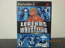 Legends of Wrestling  (Sony PlayStation 2, 2001) *Tested