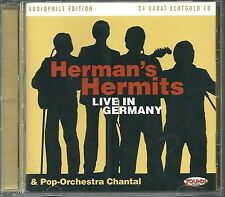 Herman's Hermits & Chantal Live In Germany 24 Krarat Zounds Gold CD