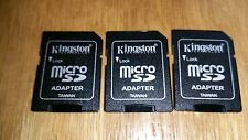Buy 1 Get 2 Free New Kingston MicroSD To SD Adapter Converter 2GB 4GB 8GB