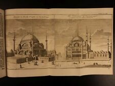 1754 TURKEY Constantinople Turk Istanbul Illustrated HAGIA SOPHIA Persia Turkish