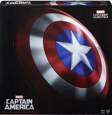 New Marvel Legends Gear Captain America Full Size Shield Prop Replica Hasbro