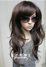 CHWJ276  new Stylish Long brown  curly Hair wigs for Women wig