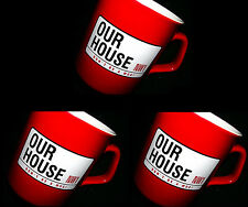 OUR HOUSE MADNESS MUSICAL - SET OF 3 OFFICIAL CHINA MUGS - SUGGS SKA TWO 2 TONE